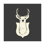 Harrison Deer Posters by Carly Lawrence