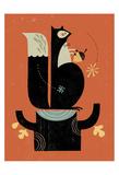 Mr. Squirrel Posters av Tracy Walker
