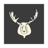 Harrison Moose Art by Carly Lawrence