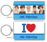One Direction - I Love Double Sided Keychain Keychain