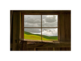 Palouse Barn Giclee Print by David Winston