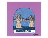 Brooklyn Snow Globe Prints by Brian Nash