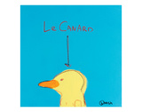 Le Canard Prints by Brian Nash