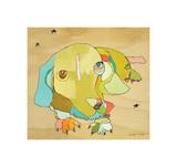 Cooper Dog Giclee Print by Jennifer Mercede