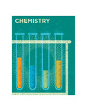 Chemistry Poster by John Golden