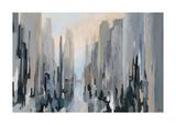La parte media de la ciudad Lámina giclée por Gregory Lang