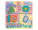 Evolution - Phone Prints by Brian Nash
