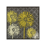Dandelion on Circles Linked Giclee Print by Susan Clickner
