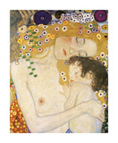 Mother and Child (detail from The Three Ages of Woman), c. 1905 Giclee-vedos tekijänä Gustav Klimt
