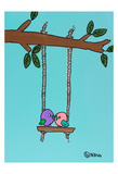 Love Birds Prints by Brian Nash