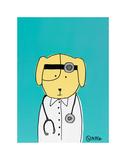 Yellow Dog Doc Posters par Brian Nash