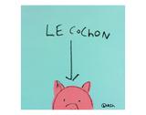Le Cochon Prints by Brian Nash