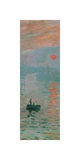 Impression, Sunrise, c. 1872 (detail) Giclee Print by Claude Monet
