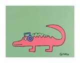 Alligator Plakater af Brian Nash