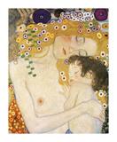 Gustav Klimt - Mother and Child (detail from The Three Ages of Woman), c. 1905 Digitálně vytištěná reprodukce