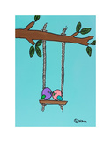 Love Birds Prints by Brian Nash