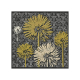 Dandelion on Interwoven Balls (Yellow) Giclee Print by Susan Clickner