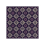 Moroccan Twelve Point Star (Purple) Giclee Print by Susan Clickner