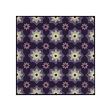 Moroccan Star Flower (Purple) Giclee Print by Susan Clickner