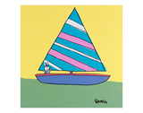 Sailboat Posters by Brian Nash
