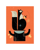 Mr. Squirrel Giclee Print by Tracy Walker