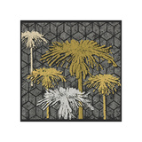 Dandelion on Tumbling Blocks (Yellow) Giclee Print by Susan Clickner