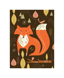 Fox in the Woods Giclee Print by Tracy Walker