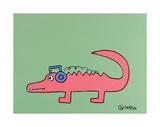 Alligator Kunst af Brian Nash