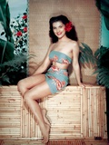 Bird of Paradise 1951 Directed by Delmer Daves Debra Paget Photographic Print