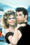 Grease 1978 Directed by Randal Kleiser Olivia Newton-John and John Travolta Fotografie-Druck