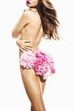 Floral Underwear Fotodruck von Arthur Belebeau