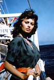Boy on a Dolphin 1957 Directed by Jean Negulesco Sophia Loren Photographic Print
