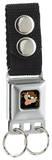 Looney Tunes - Taz Face Seatbelt Buckle Keychain Keychain