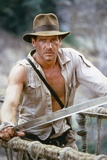 Indiana Jones and the Temple of Doom 1984 Directed by Steven Spielberg Harrison Ford Photo
