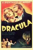 Dracula, Bela Lugosi, 1931, Plastic Sign Plastikskilt