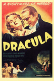 Dracula Movie Bela Lugosi 1931 Plastic Sign Plastic Sign