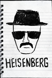 Heisenberg Sketch Plastic Sign Wall Sign