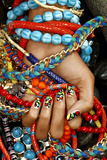 Multicolored Bracelets Photographic Print by Arthur Belebeau
