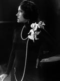 L'Actrice Americaine Gloria Swanson (1899 - 1983) Ici En 1950 Prints
