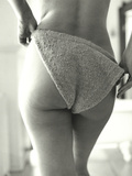 Knit Bikini Photographic Print by Arthur Belebeau