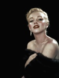 All About Eve 1950 Directed Joseph L. Mankiewicz Marilyn Monroe Fotografiskt tryck