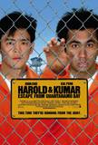 Harold and Kumar Escape From Guantanamo Bay double- sided Movie Poster Photo