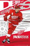 Pavel Datsyuk Detroit Red Wings Poster