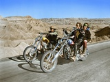 Easy Rider 1969 Directed by Dennis Hopper Dennis Hopper and Peter Fonda Fotografie-Druck