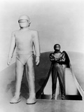 The Day the Earth Stood Still 1951 Directed by Robert Wise Loc Martin and Michael Rennie. Photographic Print