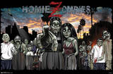Homie Zombies Fantasy Prints