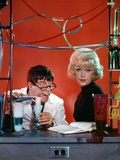 The Nutty Professor 1963 Directed by Jerry Lewis Jerry Lewis and Stella Stevens. Photo