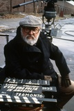 Once Upon a Time in America 1984 Directed by Sergio Leone on the Set, the Director Sergio Leone. Photographic Print