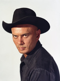 The Magnificent Seven 1960 Directed by John Sturges Yul Brynner Photo