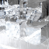 Ice Blocks I Photographic Print by Graeme Montgomery